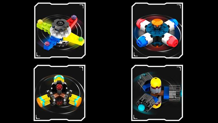 Спиннер Лего