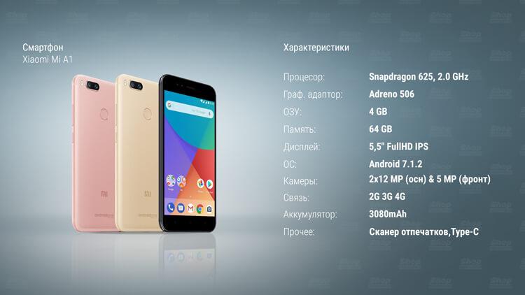 Xiaomi Mi A1 характеристики