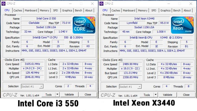характеристики-процессоров-CPU-Z-x3440-core-i3-550-1