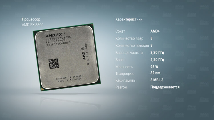 AMD-FX-8300-характеристики