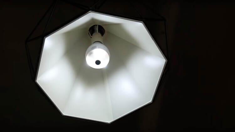 AlfawiseJD-T8610-Q2 в светильнике