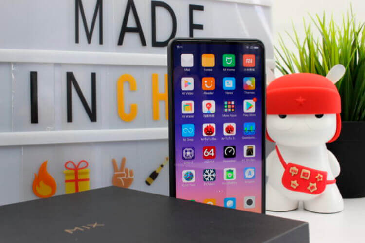 Внешний вид Xiaomi Mi Mix 2S