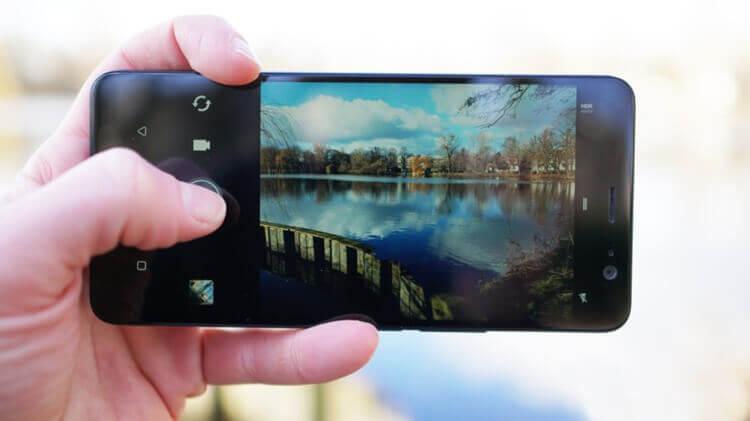 Камера HTC U11 Plus