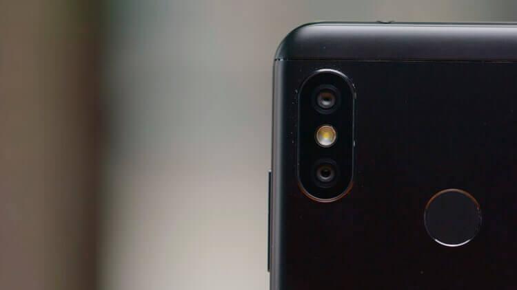 Основная камера Redmi 6 Pro