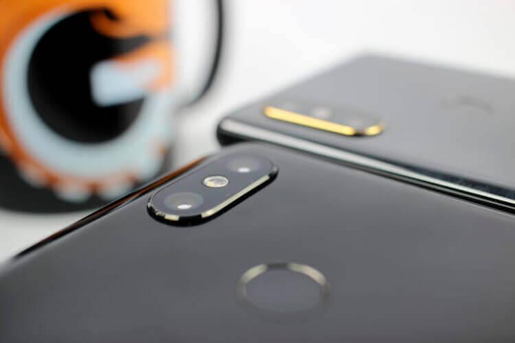 Камеры Xiaomi Mi 8 и Mix 2S