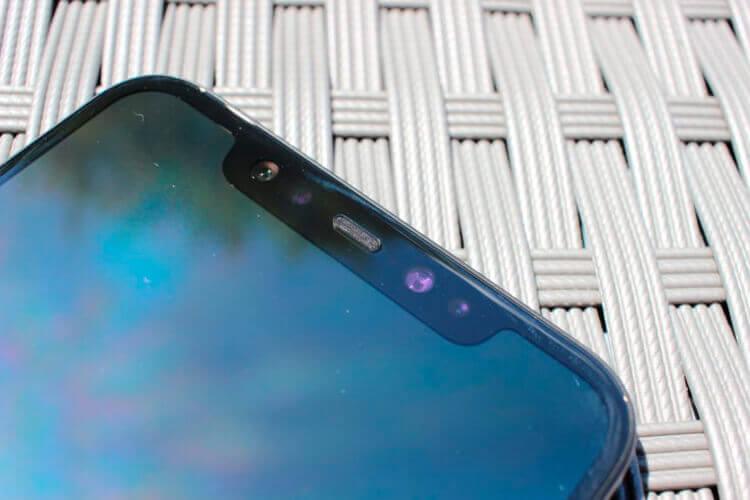Дисплей с монобровью Xiaomi Mi 8