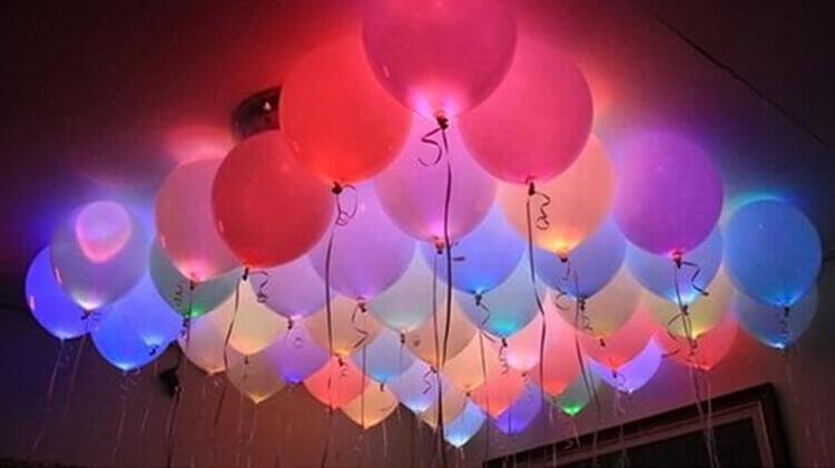 LED-шары с подсветкой
