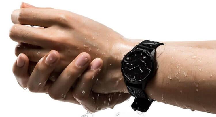 Lenovo Watch 9 и влагозащита