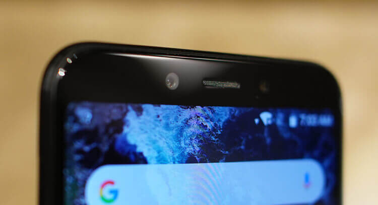 Xiaomi Mi A2 фронтальная камера