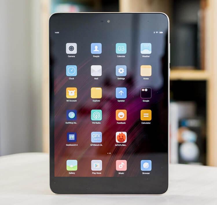 Xiaomi Mi Pad 3 дисплей