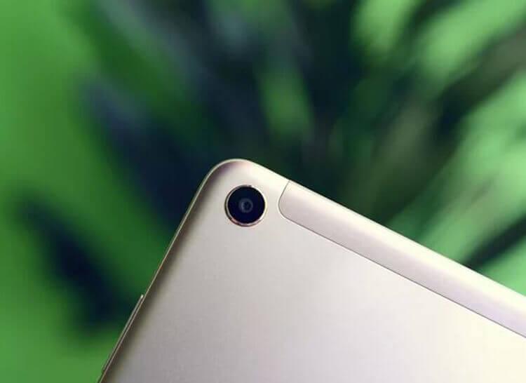 Xiaomi Mi Pad 4 камера