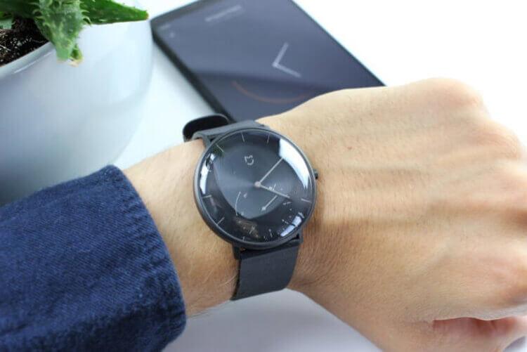 Xiaomi Mijia SYB01 на руке