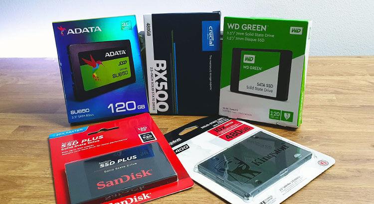 Сравнение SSD дисков из Китая