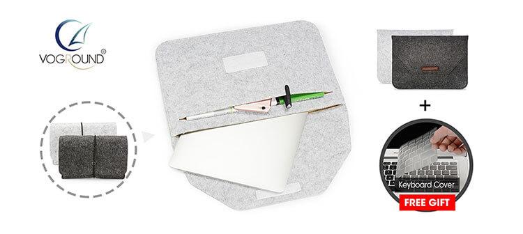 Чехол-конверт из войлока для макбук