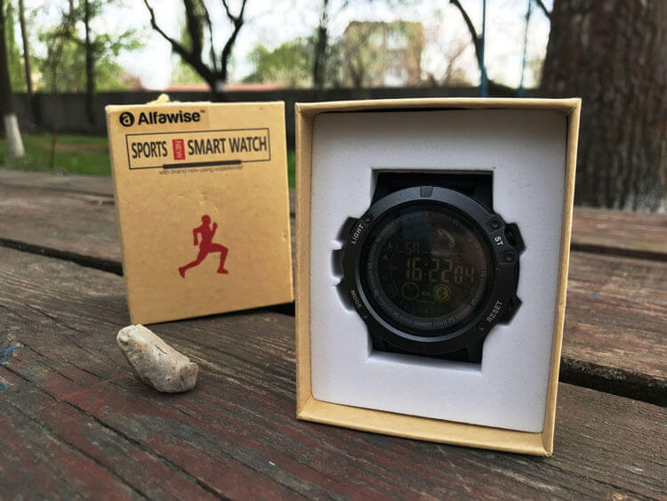 Внешний вид Alfawise Sports Smart Watch