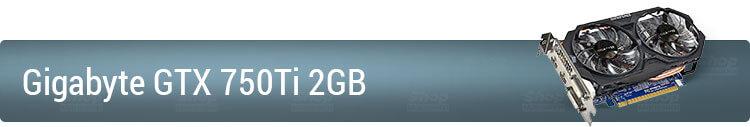 Видеокарта Gigabyte GTX 750Ti 2GB