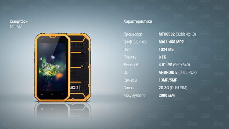 характеристики смартфона №1M2