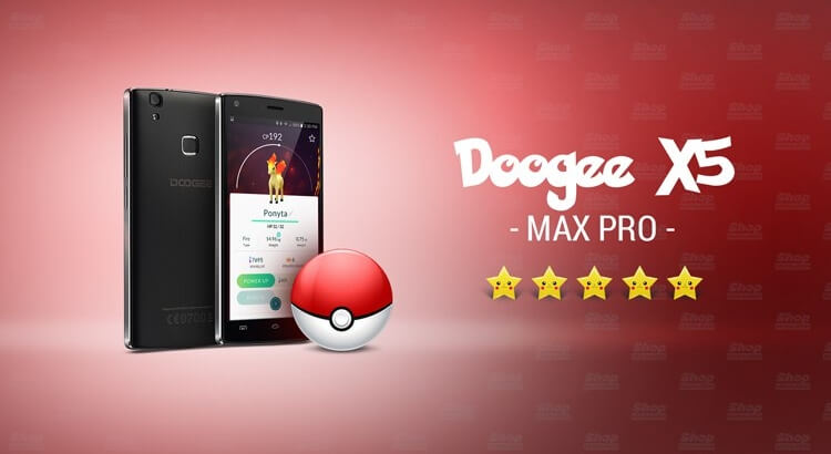 Doogee X5 MAX PRO — смартфон со сканером