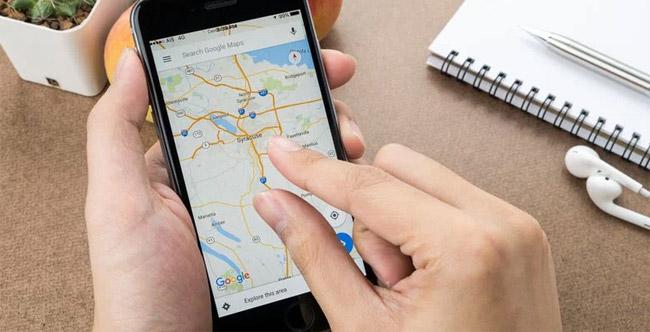 карта на iphone