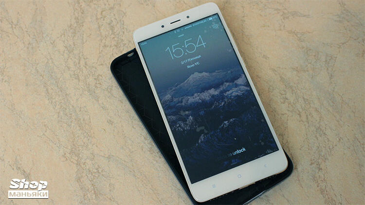 Xiaomi Redmi Note 4 вид спереди