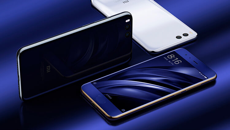 Xiaomi Mi 6: внешний вид