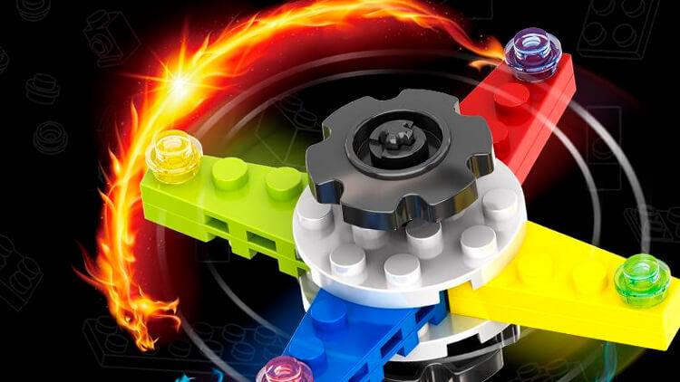 Спиннер Лего 1