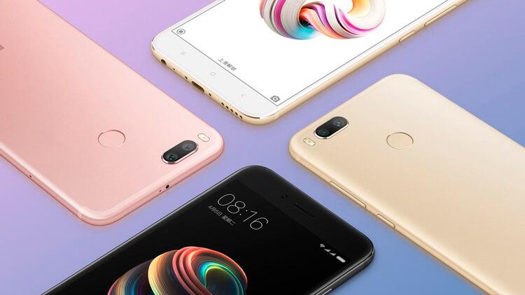 Xiaomi Mi A1 внешний вид