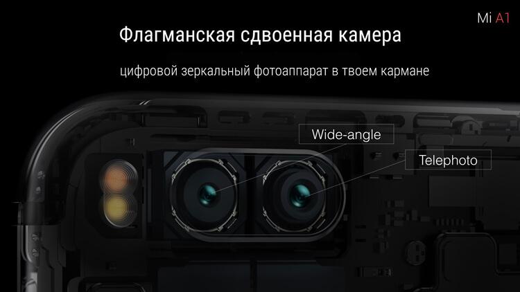 Xiaomi Mi A1 камера