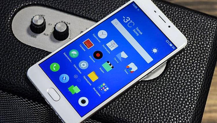 Meizu M6 Note 2.5 display