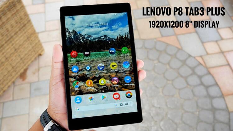 Lenovo P8 TAB3 8 Plus спереди