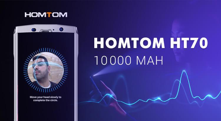 Самая большая батарея в телефоне homtom ht70