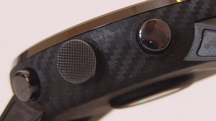 Кнопки Amazfit Stratos