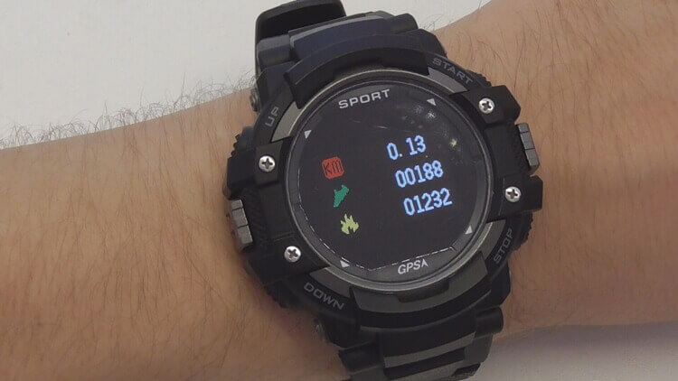 KKTick DT No.1 F7 — недорогие смарт-часы