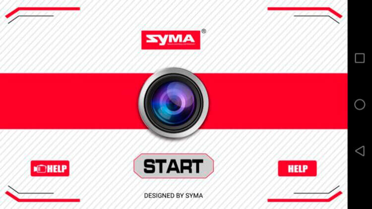 Приложение Syma X8 Pro
