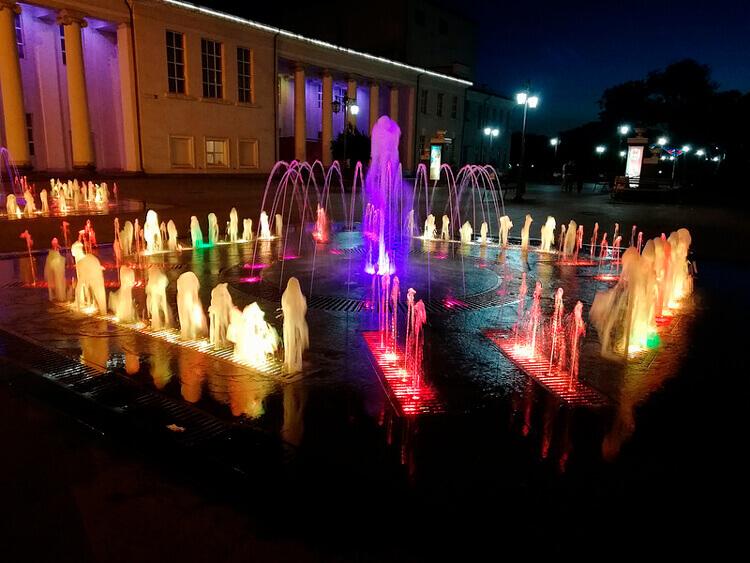 huawei nova 2i пример фото ночью
