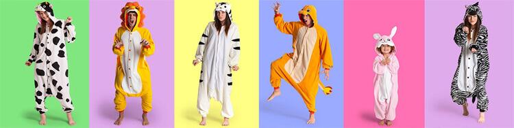 Размеры пижамы кигуруми