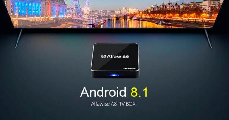 Alfawise A8 спереди