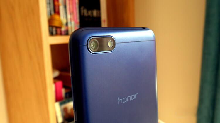 Основная камера Honor 7S