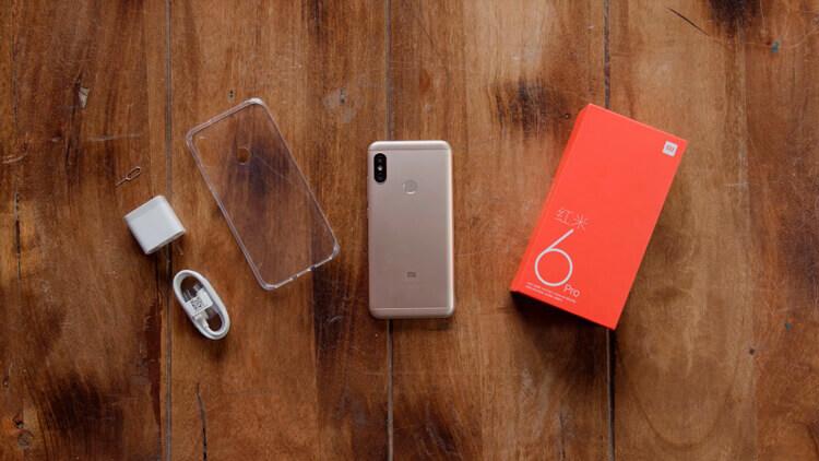 Комплект поставки Redmi 6 Pro