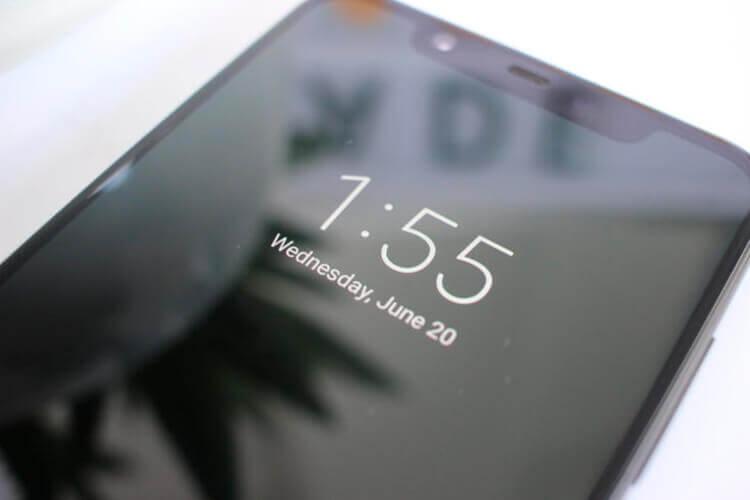 Режим экрана «всегда включен»