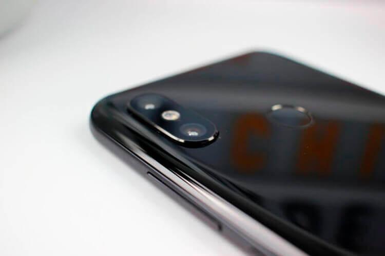 Основная камера Xiaomi Mi 8