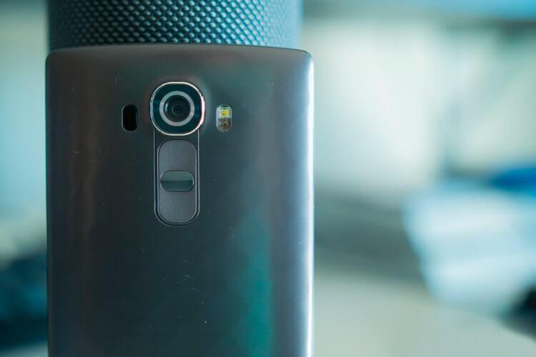 Камера смартфона LG G4