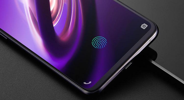 Сканер отпечатка пальца на экране vivo nex