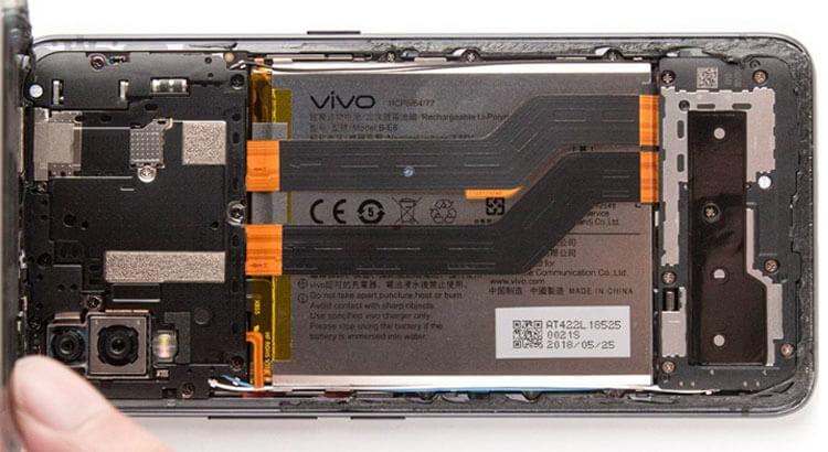 Батарея vivo nex