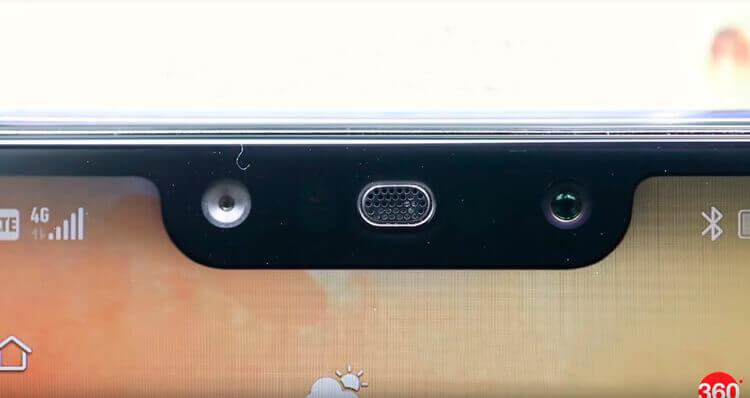 Фронтальные камеры Huawei Nova 3