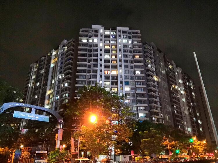 Пример ночного фото на Huawei Nova 3