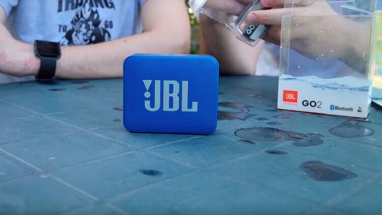 JBL Go 2 спереди