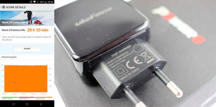 Тест батареи Ulephone Power 5