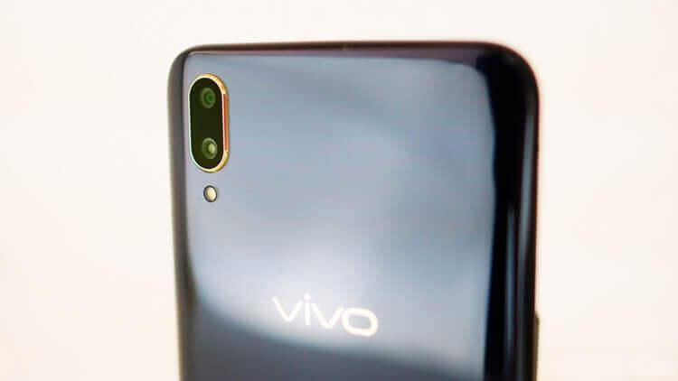 Vivo V11 Pro камера