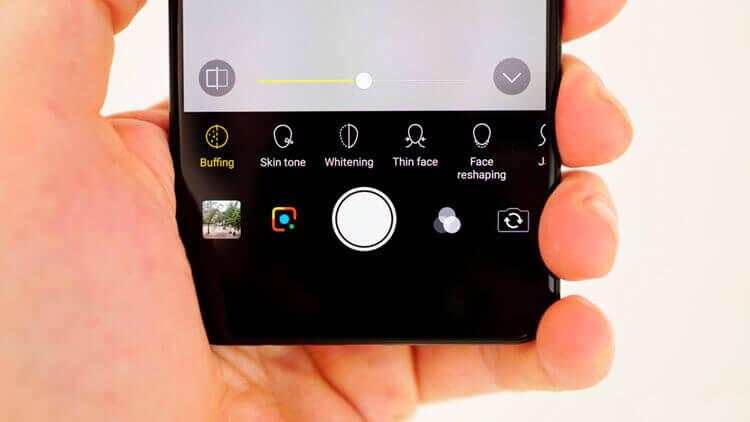 Vivo V11 Pro функции камеры